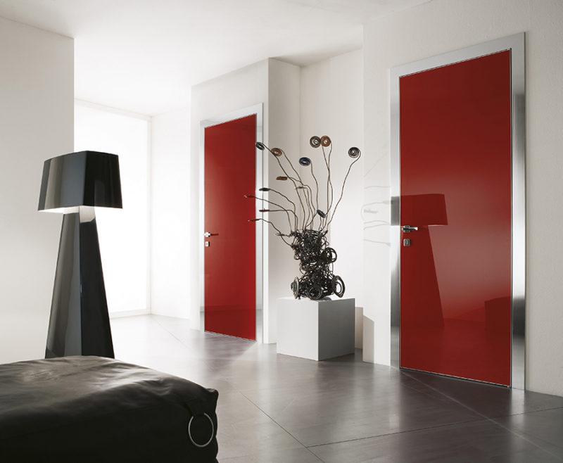 דלתות קו אפס עם מסגרת אלומיניום SEGNO