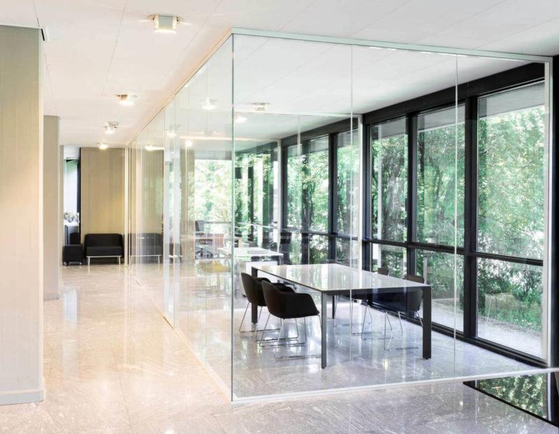 מחיצות זכוכית למשרד ETRA